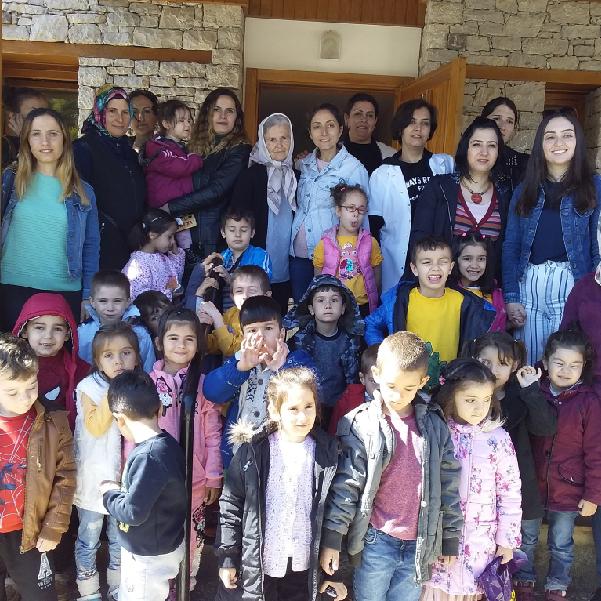 Kazım İnan Misafirhanesi'ne öğrenci ziyareti